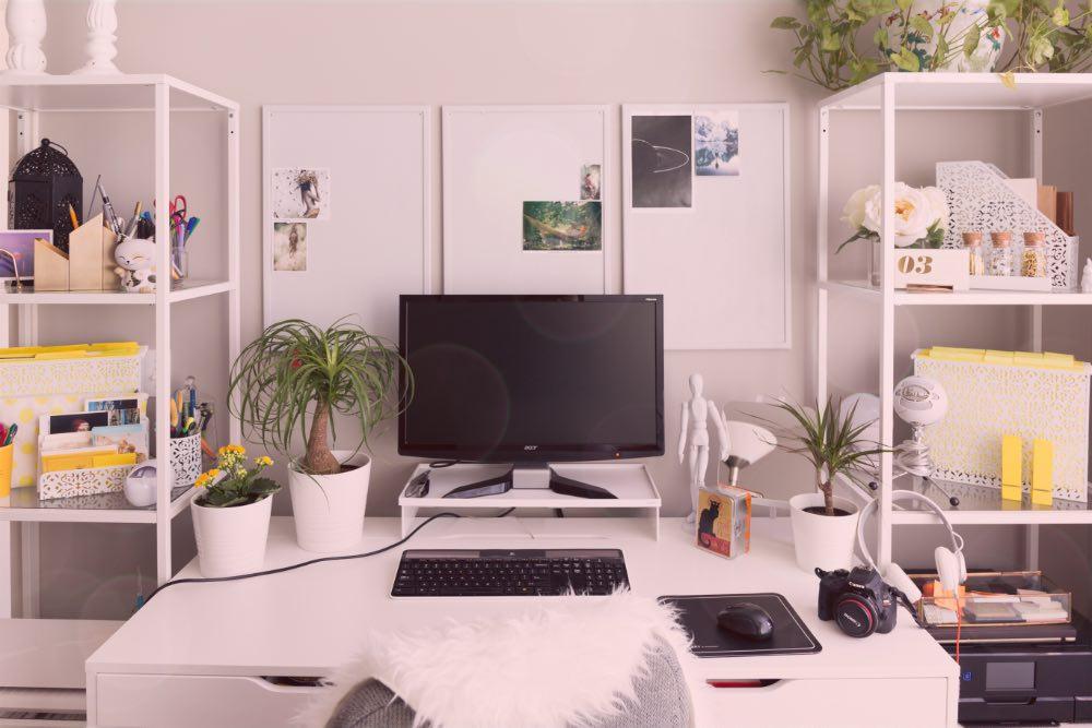 Möbel im Arbeitszimmer: Aus Wohnzimmer Homeoffice machen