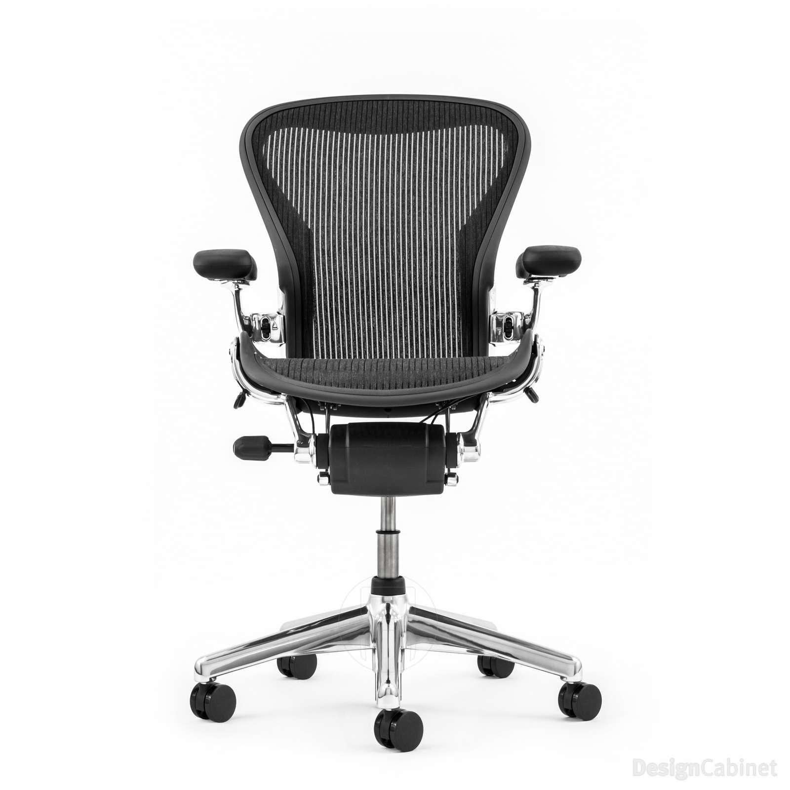 Herman Miller Aeron Chair in Aluminium – Size B