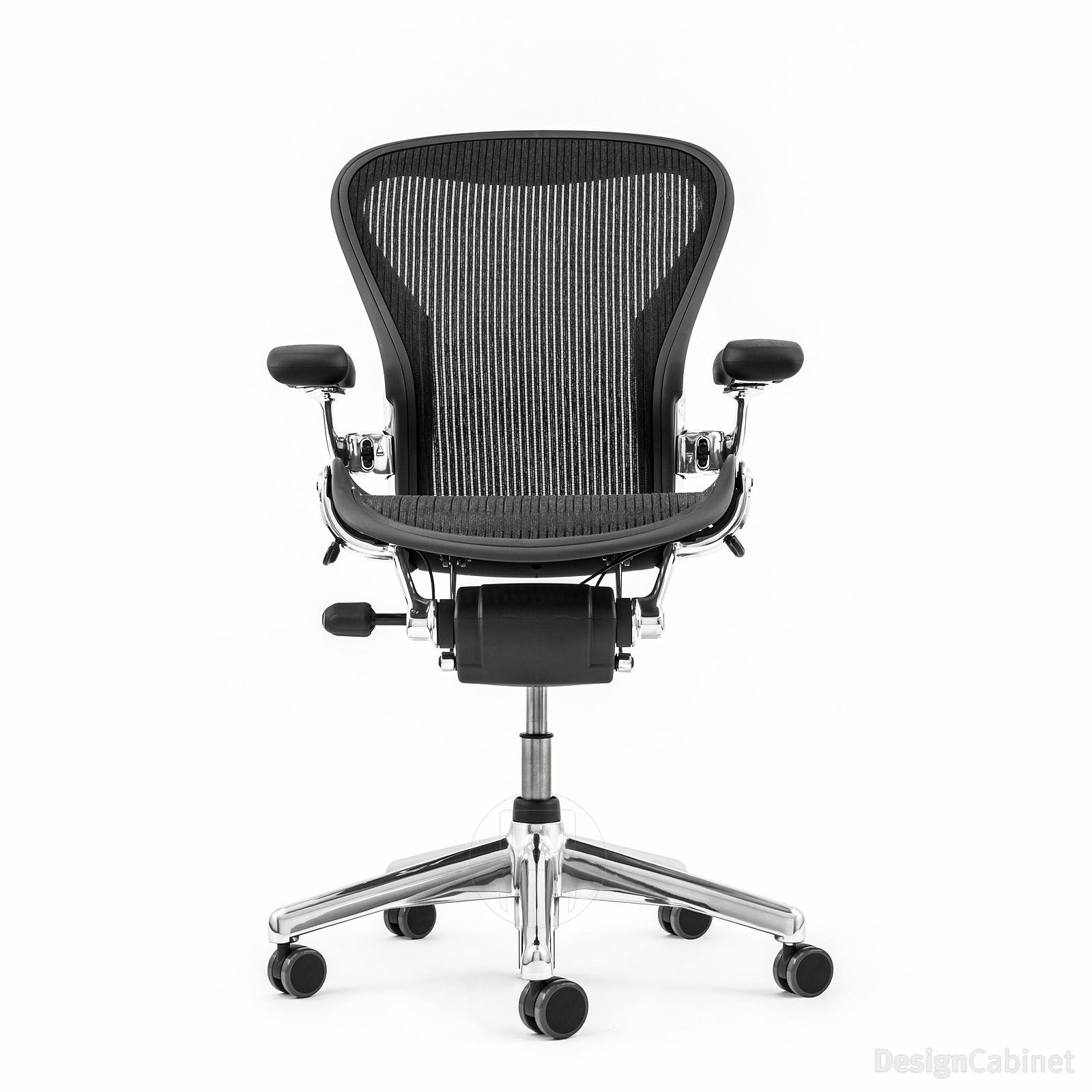 Herman Miller Aeron Chair In Aluminium U2013 Size C