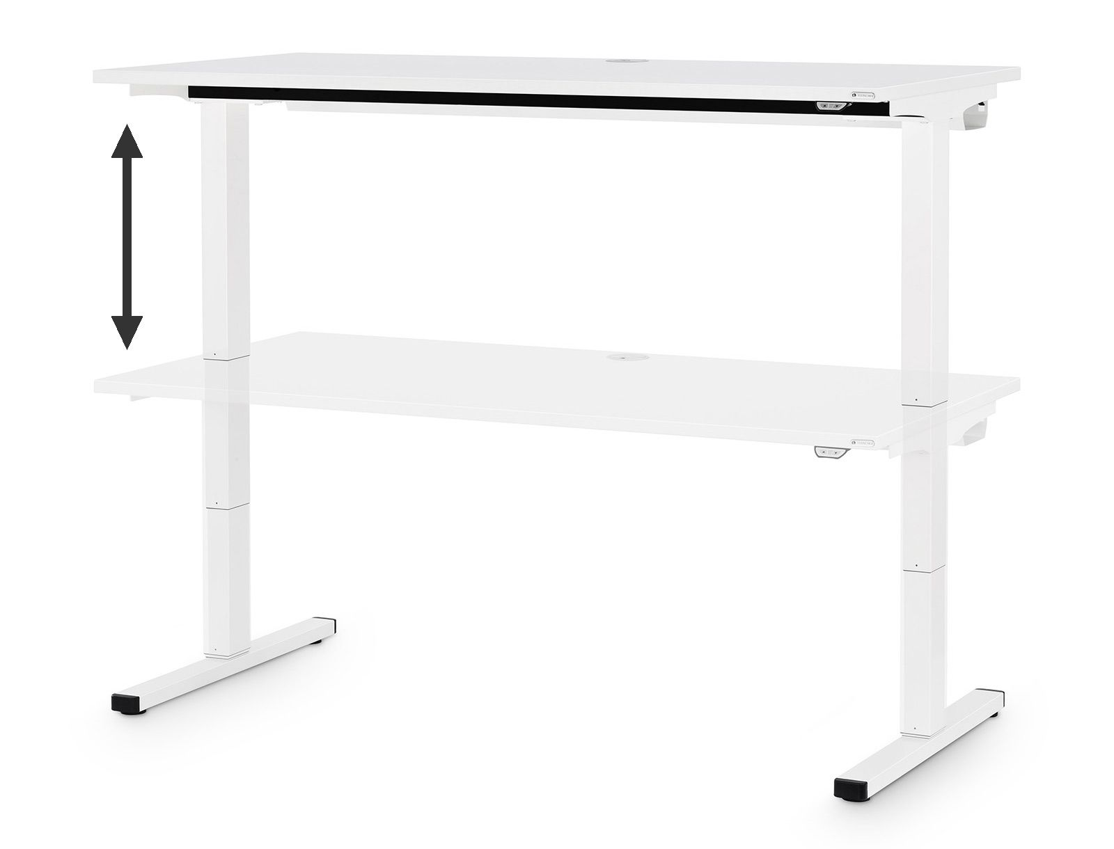 High Quality T Table U2013 Elektrisch Höhenverstellbarer Schreibtisch 160x80cm |  DesignCabinet U2013 Official Herman Miller Store With Aeron Chair