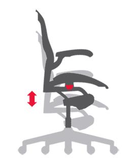 Ergonomischer bürostuhl grafik  Herman Miller Aeron Chair – Größe C | Aeron Chair | Bürostühle ...