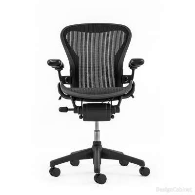 herman miller aeron chair – size c | swivel chairs | designcabinet