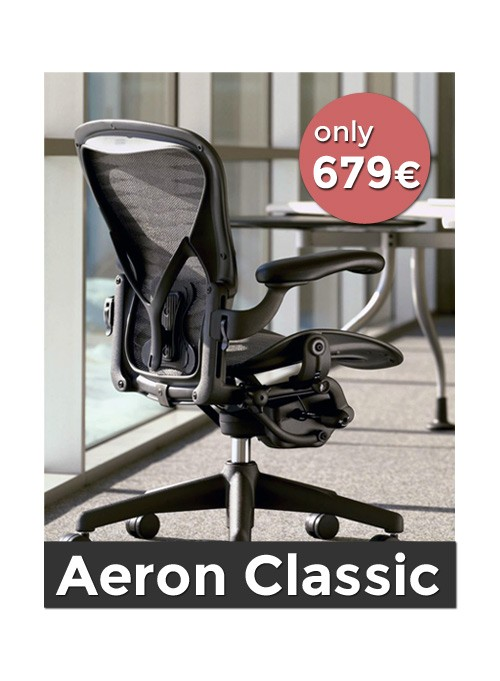 Classic Aeron Chair From EUR 679 | DesignCabinet® U2013 Official Herman Miller  Store With Aeron Chair